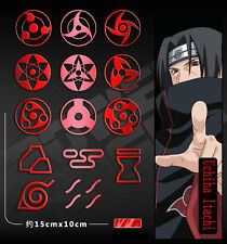 14pcs/Sets New Anime Naruto Stickers Uchiha Itachi Decals For Phone Car Laptop