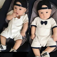 ❤️ Newborn Kids Baby Boys Clothes Romper Jumpsuit Bodysuit Outfits Clothes Set