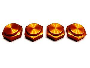 1 Satz Geschlossene-Radmuttern für HPI BAJA 5B, 5T, SS in Orange 24mm