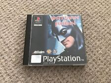 Batman and Robin Playstation 1 PS1 Complete AU Release