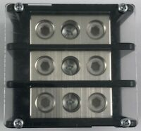 Power Distribution Block, Rating 175A, (1) 2/0-14AWG CU (1) 2/0-14AWG CU, UL