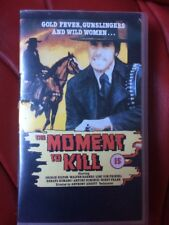 THE MOMENT TO KILL - VHS PAL SPAGHETTI WESTERN George Hilton