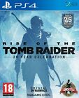 Rise Of The Tomb Raider 20 Year Celebration PS4 * SEALED PAL *