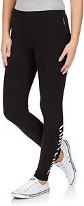 Converse Women's Stencil Leggings 12175C (Black) UK Small