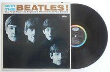 Meet The Beatles 1st Press No Producer Credit RIAA 3 Scranton Machine Stampers !