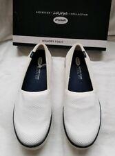 Dr Scholls Weaver White Knit Memory Foam Walking Loafer Shoes Sneaker 7.5 $60