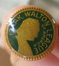 Vintage Izaak Walton League of America Tie Pin