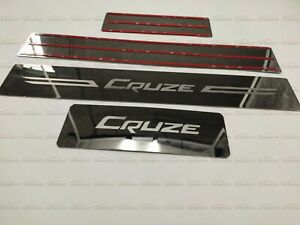For Chevrolet Cruze Accessories Door Sill Plates Guard Cover Protector Sticker