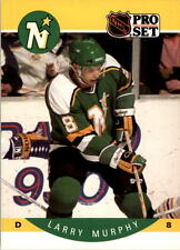 1990-91 PRO SET HOCKEY LARRY MURPHY CARD #143 MINNESOTA NORTH STARS NMT/MT-MINT