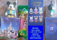 "LE Disney Shanghai Opening Mickey Mouse Vinylmation 3"" Figure + Mystery 3""+BONUS"