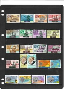Virgin Is QE2 MNH collection