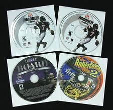 EA Sports Madden Hoyle Board Games Roller Coaster Tycoon CD's Windows PC Gaming