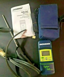 Bacharach Fyrite Tech Combustion Gas Analyzer Model 50 & 60 Instruction 24-9428