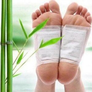 20pcs(10pcs Patches+10pcs Adhesives) Detox Foot Patches Pads Body Toxins Feet
