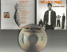 OUR LADY PEACE is Anybody Home w/ RARE C 10 MIX CANADA Made PROMO DJ CD single