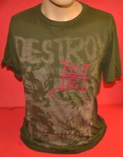 Ed Hardy Green Free Forever T-Shirt Mens Large