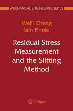 Residual Stress Measurement and the Slitting Met, Finnie, Iain, Cheng, Weili, Ve