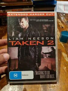 Taken 2 (DVD, 2013) Extended Harder Cut