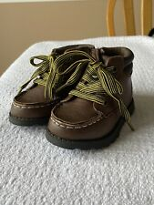 Carter's Toddler Boys Size 5 Brown Leather Boot