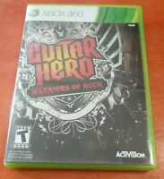 Guitar Hero Warriors of Rock Microsoft Xbox 360 Activision Neversoft Bink Video