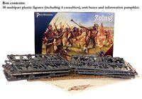 ZULUS - PERRY MINIATURES - 28MM - ANGLO- ZULU WARS - COLONIAL - SENT 1ST CLASS!