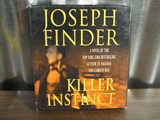 Killer Instinct Joseph Finder 5 CD Abridged Audiobook Audio Book
