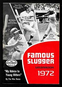 1972  Famous Louisville  Slugger Yearbook  WILLIE STARGELL & TONY OLIVA  NR-MT