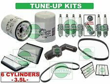 TUNE UP KITS 01-04 ACURA MDX HONDA PILOT (V6 -3.5L): SPARK PLUGS BELTS & FILTERS
