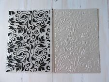 Embossing Folder   -  Antique style