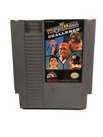 WWF WrestleMania Challenge (Nintendo Entertainment System, 1990) Authentic Cart