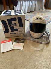 SHOEI RF1100 Full Face Helmet with Xtra Clear Shield - Medium White