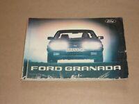 FORD Granada 1981 Betriebsanleitung Bedienungsanleitung Handbuch