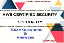 AWS Certified Security Specialty Amazon exam questions answers and simulator