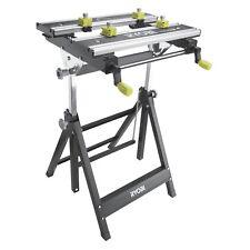 RYOBI™ 100kg Metal Foldable Workbench Work Bench Adjustable Height & Tilt Angle
