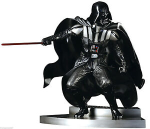 Star Wars Darth Vader Bas Battle PVC Figurine Avec Light 30cm Kotobukiya
