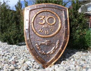 DDR UdSSR 30 Jahre NVA 86 Ehrengeschenk Panzer - Panzerregiment East german USSR