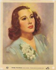 Rca Red Seal Artist Poster, Gladus Swartout, Messo-Soprano,1940's