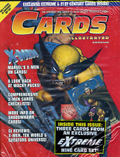 Cards Illustrated Magazine #3  X-MEN Wolverine Cover  W/ Trading Cards ~ SEALED