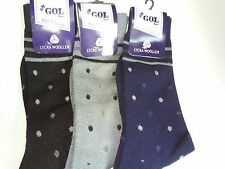 New 12 Pairs Mens Wool Blend Socks Warmer Thermal Winter Casual Dress Gents