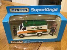 Matchbox Moko Lesney Superkings K99 Dodge Polizei Van