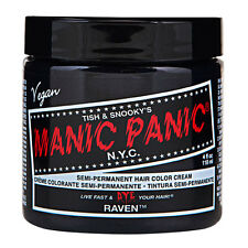 Manic Panic Classic Hair Dye Color Raven Vegan 118ml Manic-panic