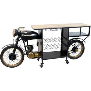 BAR Table Wine Rack Motorcycle South Caroline BAR Counter BAR Luxury Style