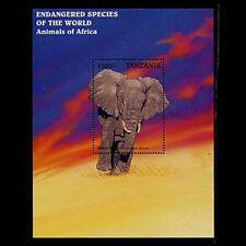 Tanzania, Sc #1636, MNH, 1997, S/S, Elephant, Animals, AM89F