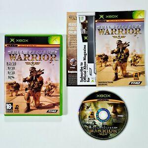 Microsoft Xbox Spiel FULL SPECTRUM WARRIOR Realistic War Game/Shooter/Krieg