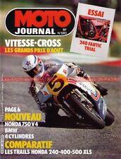 MOTO JOURNAL  520 HONDA XLS 500 250 400 XL S FANTIC 240 Grand Prix 24H SPA 1981