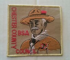 Chester County Council PA Baden Powell CP patch SALE!!!