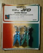 Vintage JFD 45-640 Antenna Wire Clips in Package NOS