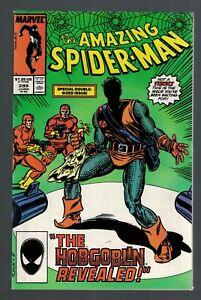 Marvel Comics Amazing spiderman New Hobgoblin Jack o Lantern 1987 9.0 Nmint -