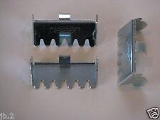 Notched Hangers, Metal Aluminum Frame Hardware,  Nielsen ® Brand, 25 Pack