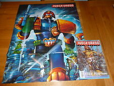 JUDGE DREDD THE MEGAZINE Comic - Series 1 - No 14 - Date 11/1991 (FREE Poster)